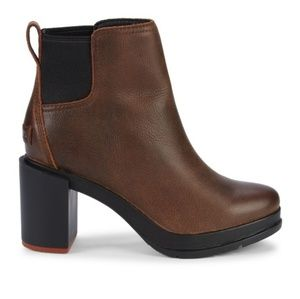 New SOREL Blake Leather Chelsea Boots